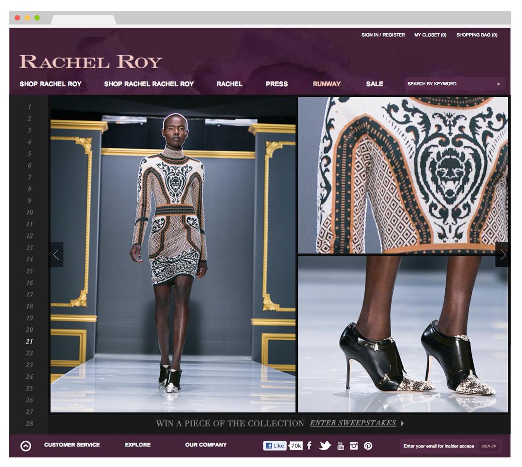 rachel roy, fashion, fall, lookbook, 2013